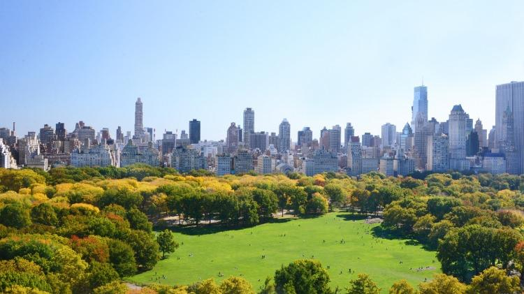 Sheep Meadow w nowojorskim Central Parku