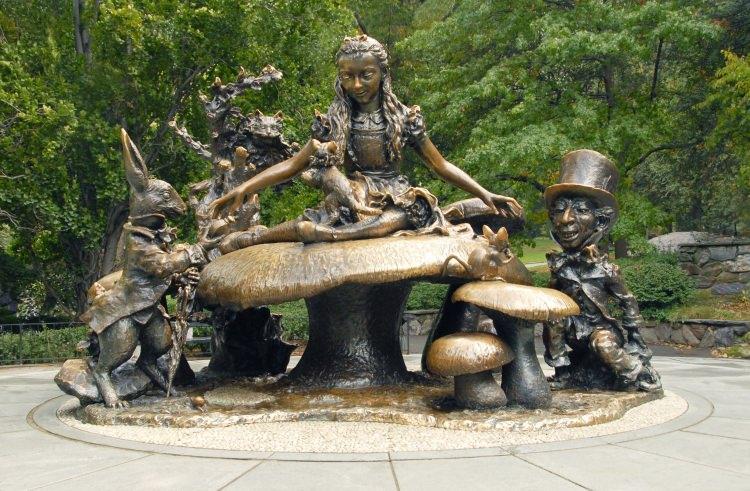Pomnik Alicja w krainie czarów