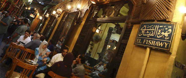 kawiarnia Fishawi Cafe w Egipcie