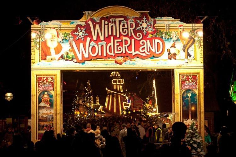 Winter Wonderland Hyde Park w Londynie