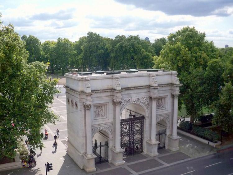 Marble Arch w londyńskim Hyde Parku