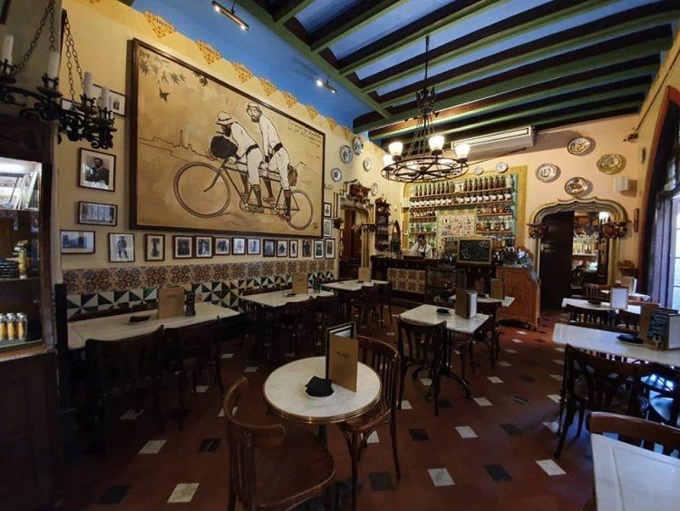 kawiarnia Els 4 Gats w Barcelonie