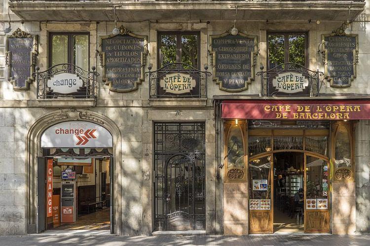 Cafè de l'Opera, Barcelona