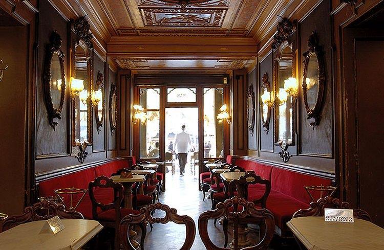 kawiarnia Caffe Florian w Wenecji