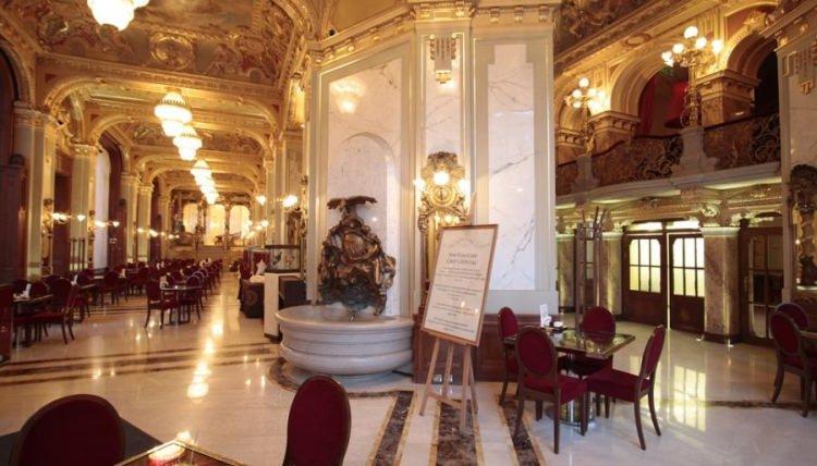 kawiarnia New York Cafe w Budapeszcie