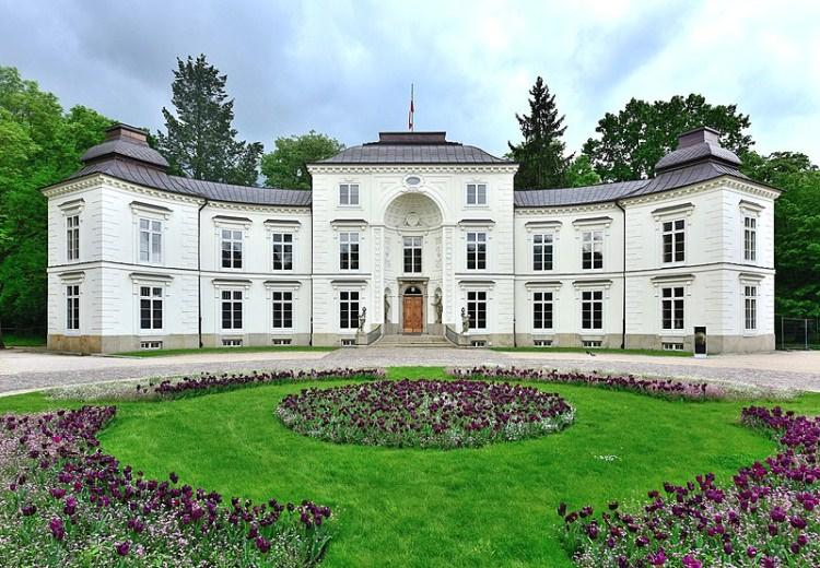 Pałac Myślewicki w Łazienkach Królewskich