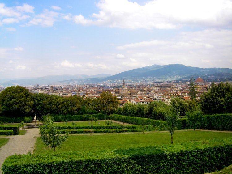 Ogród Boboli Florencja