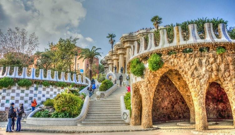 Park Guell w Barcelonie