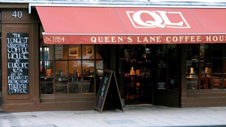 Queen's Lane Coffee House - najstarsza kawiarnia w Europie