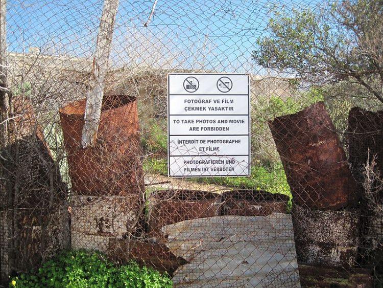 Warosia Cypr miasto duchów
