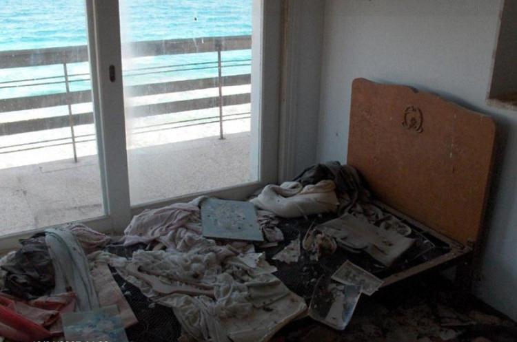 Warosia Cypr opuszczone miasto