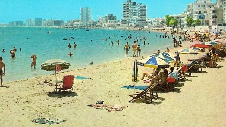 Warosia Cypr opuszcona dzielnica turystyczna