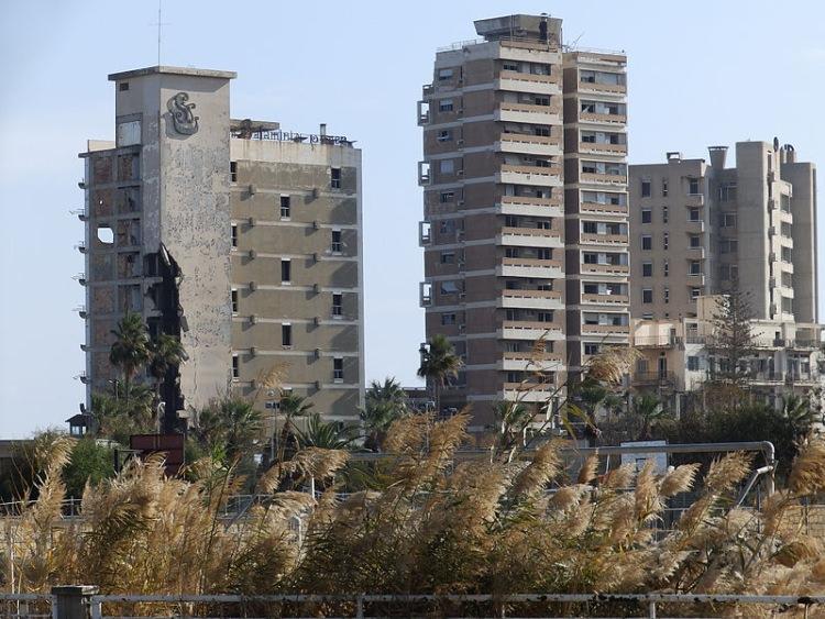 warosia opuszczone miasto cypr