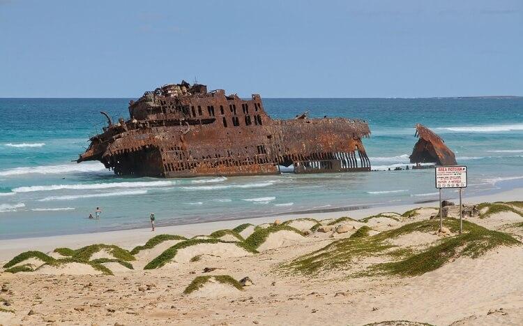 Wrak statku Cabo de Santa Maria