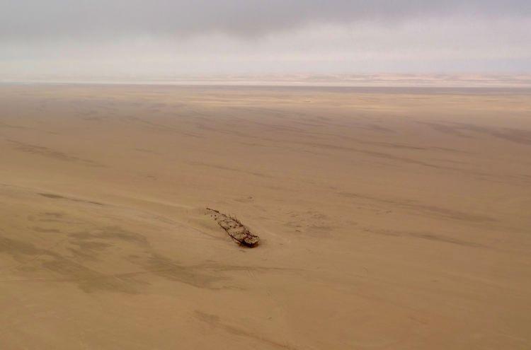 Wrak statku Eduard Bohlen w Namibii