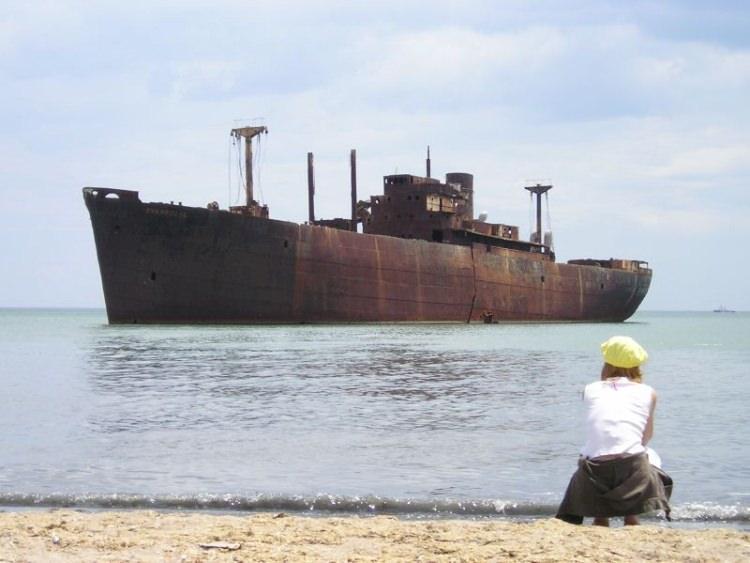 wrak statku Evangelia w Rumunii