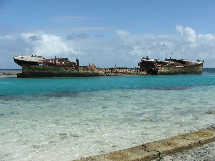 Wrak statku HMAS Protector