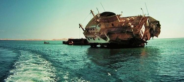 Wrak statku Louilla w pobliżu Sharm El Sheik
