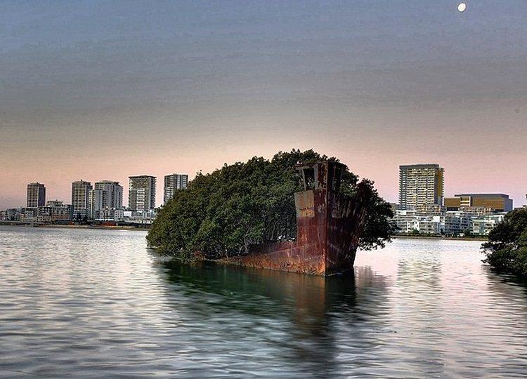 Wrak statku SS Ayrfield w Australii