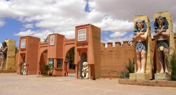 studio filmowe Atlas w Maroku