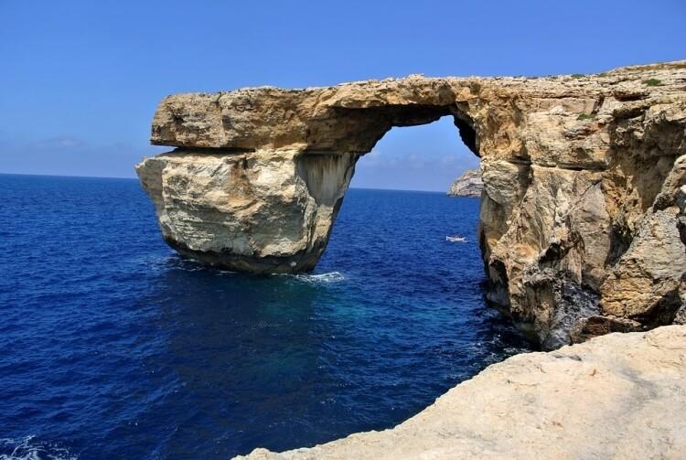 Azure Window - lazurowe okno na Malcie