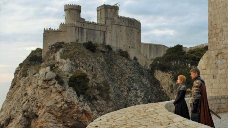 Fort Lovrijenac - gra o tron