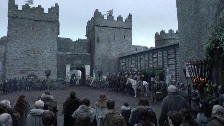 Castle Ward w serialu Gra o tron