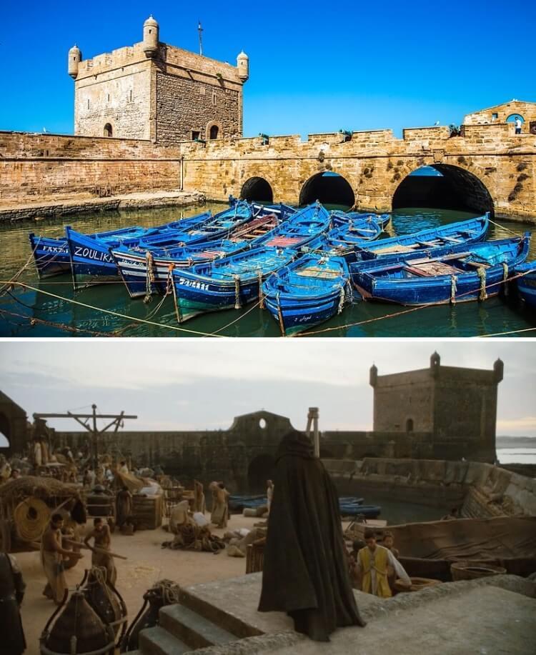 gdzie w maroko kręcono grę o tron