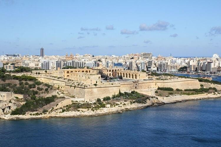 Fort Manoel - to między innymi tutaj kręcono serial Gra o tron