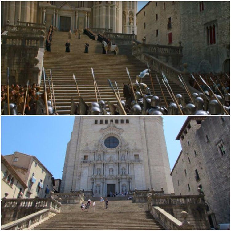 Girona - Gra o tron