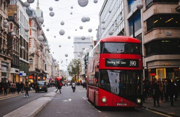 czerwony autobus Londyn