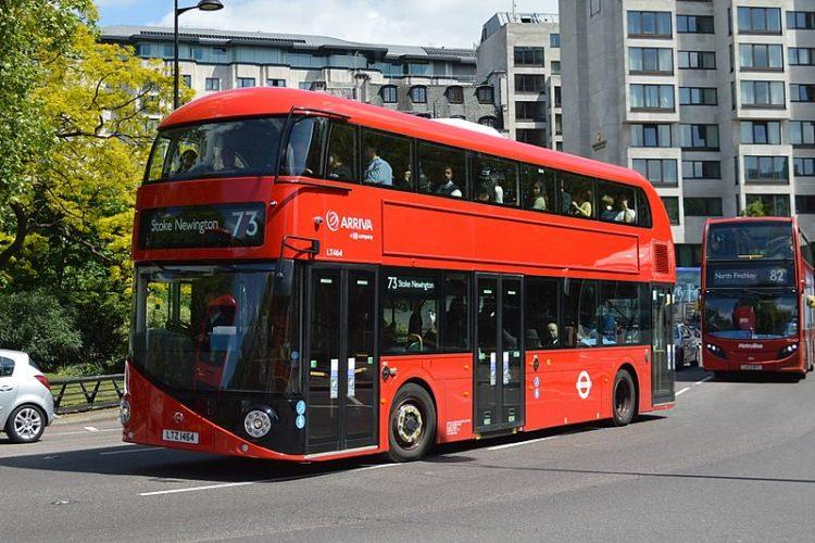 londyński autobus