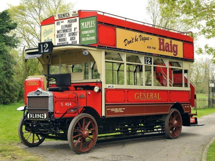 Omnibus model S454 produkowany w latach 1920-1927