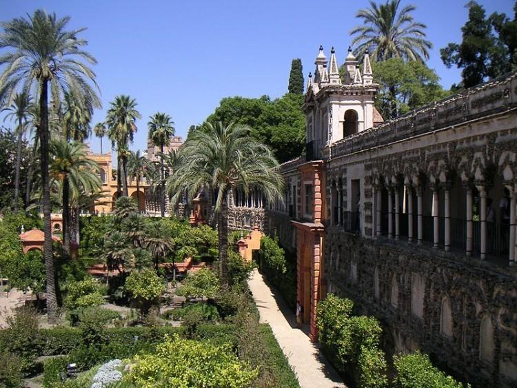 pałac Alkazar w Sewilli - to tu kręcono Grę o tron