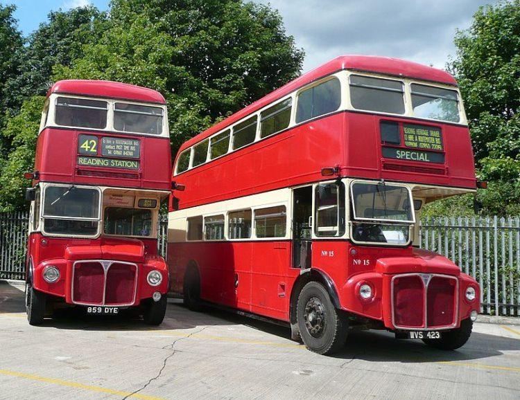 Stare modele londyńskich autobusów