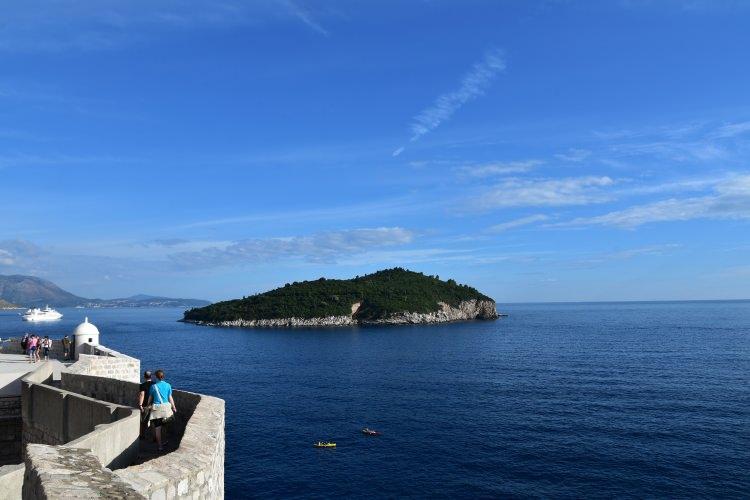 Wyspa Lokrum Chorwacja
