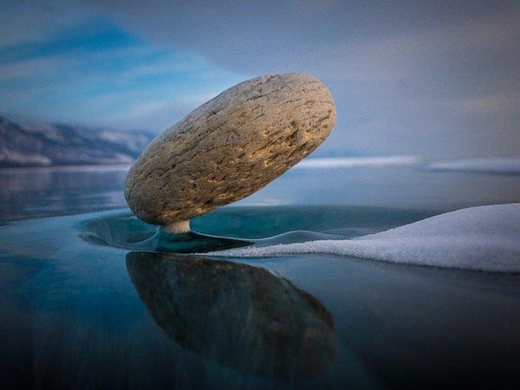 baikal zen - niesamowite zjawisko na jeziorze Bajkał
