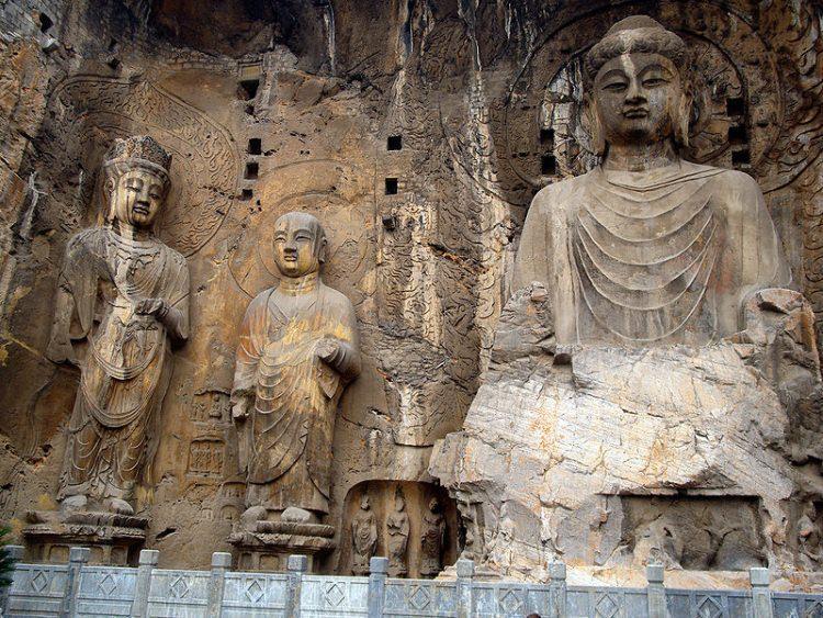 Chiny Groty Dziesięciu Tysięcy Buddów