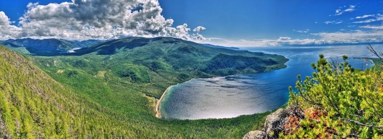 Jezioro Bajkał , Zatoka Ayaya