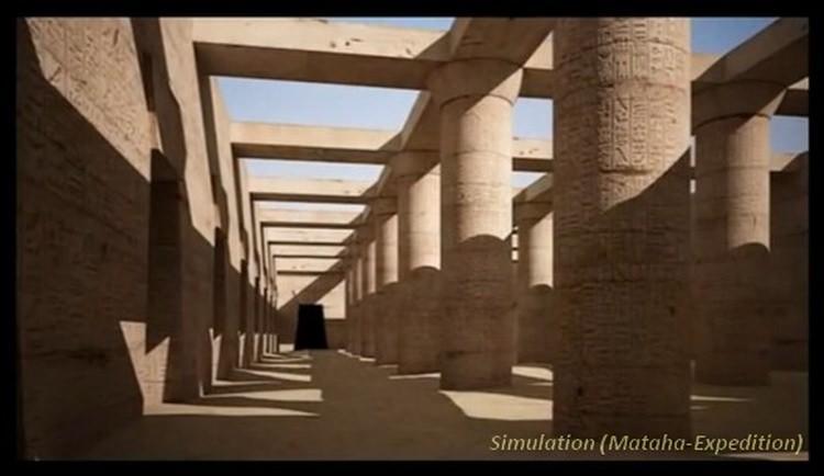 wielki labirynt w Egipcie
