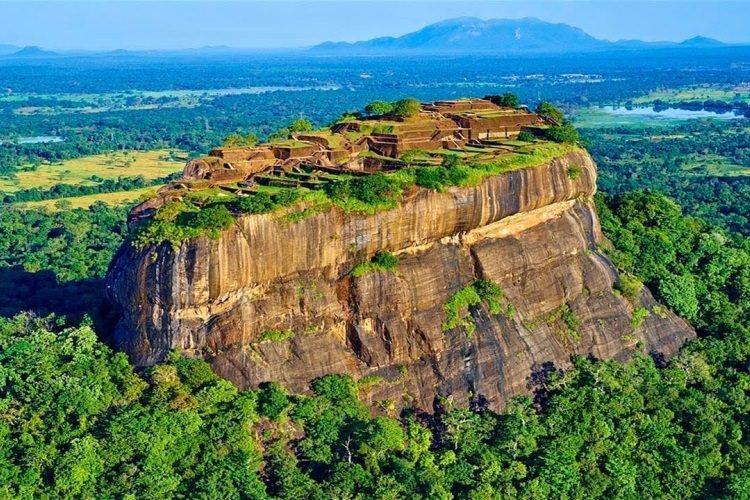 Sigirija na Sri Lance