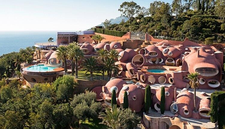 bubble house pierre cardin