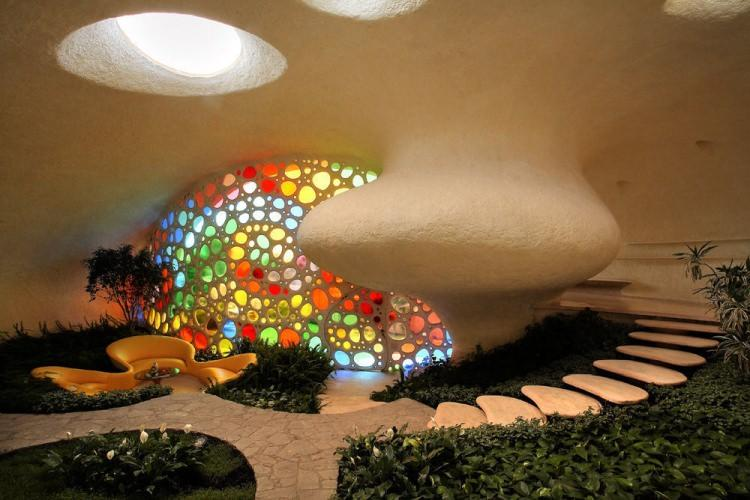 Nautilius house - dom w kształcie muszli