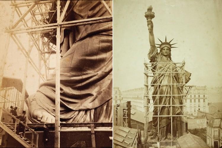 Jak budowano Statuę Wolności
