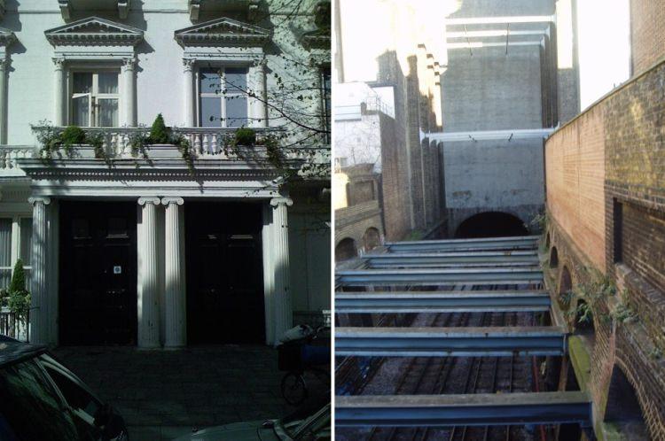 dummy houses w Londynie