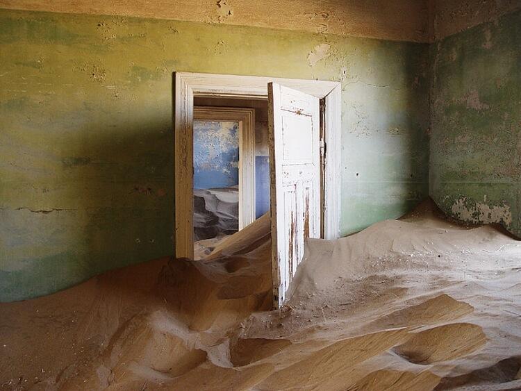 Kolmanskop – wymarłe miasto w południowej Namibii