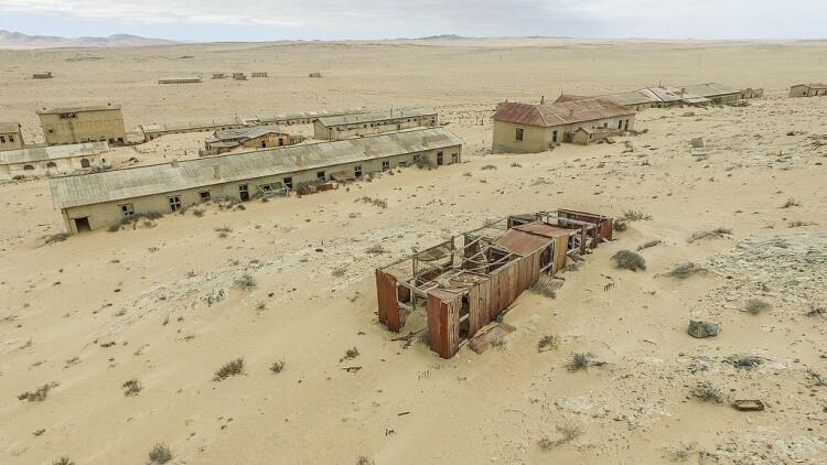 Kolmanskop opuszczone miasto górnicze na pustyni