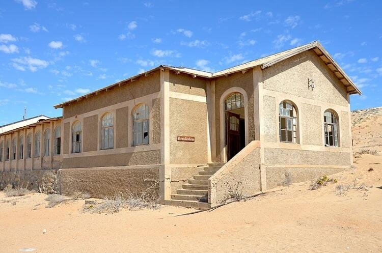 Miasto duchów Kolmanskop