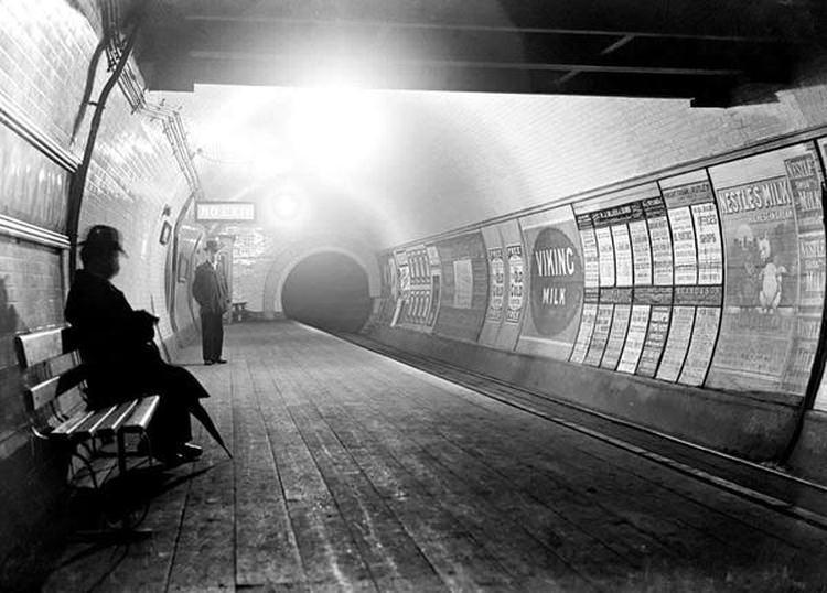 Stacja Queens Road w 1900 roku