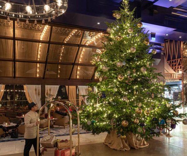 Najdroższa choinka na świecie znajduje się w Kempinski Hotel Bahia
